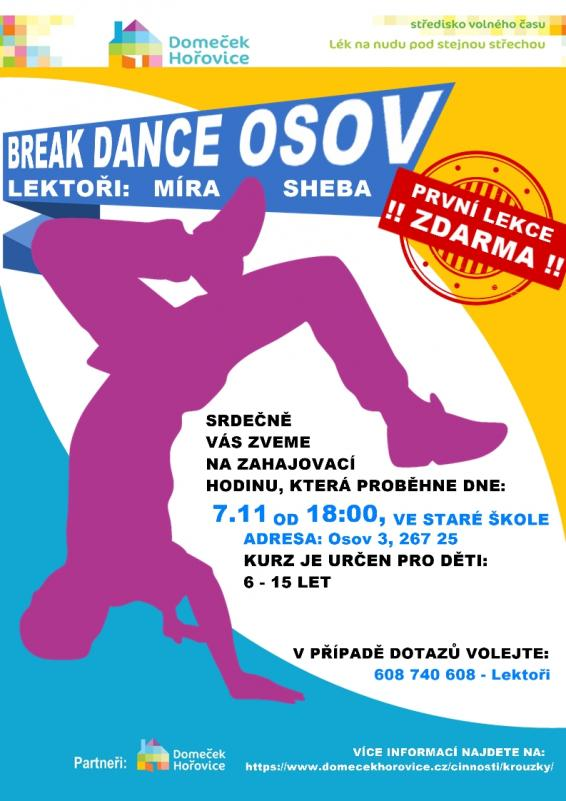 Break dance Osov